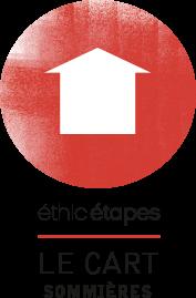 Logo Ethic étapes le Cart Sommières, accueil de groupes