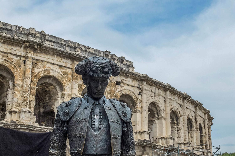 Arènes de Nîmes région Gard éthic étapes le Cart