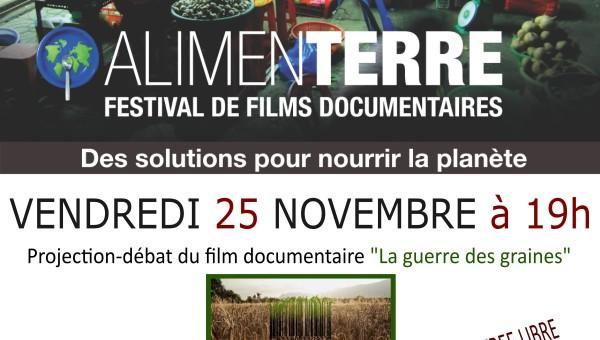 Festival AlimenTerre 25 novembre