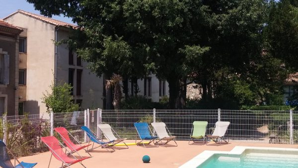 Un petit tour du côté de la piscine