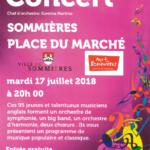 affiche concert orchestre Sommières