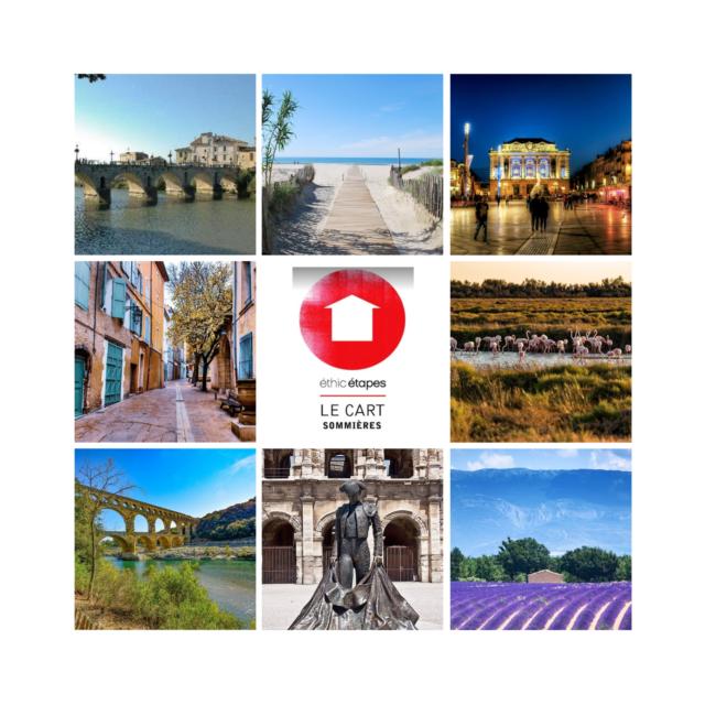 Votre séjour à Sommières : Arènes de Nîmes, Camargue Gardoise, Pont du Gard, Flament Roses, Provence Gardoise, mer Méditerrannée, Montpellier, pont romain de Sommières